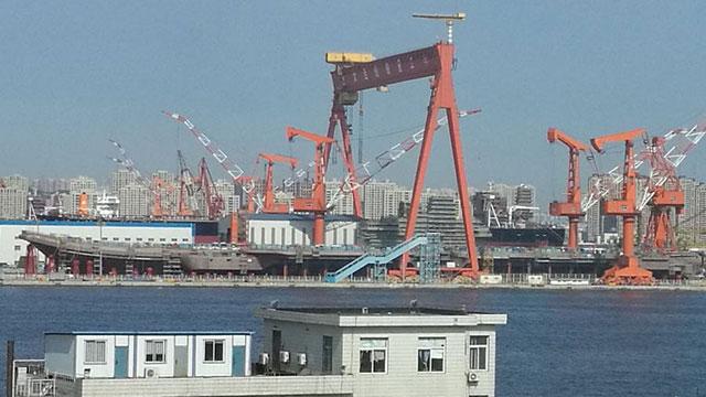 国产航母建造进度全景呈现