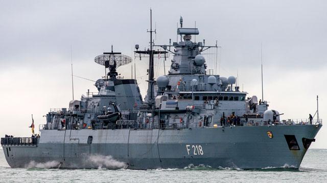 曾让中国羡慕不已的德国护卫舰