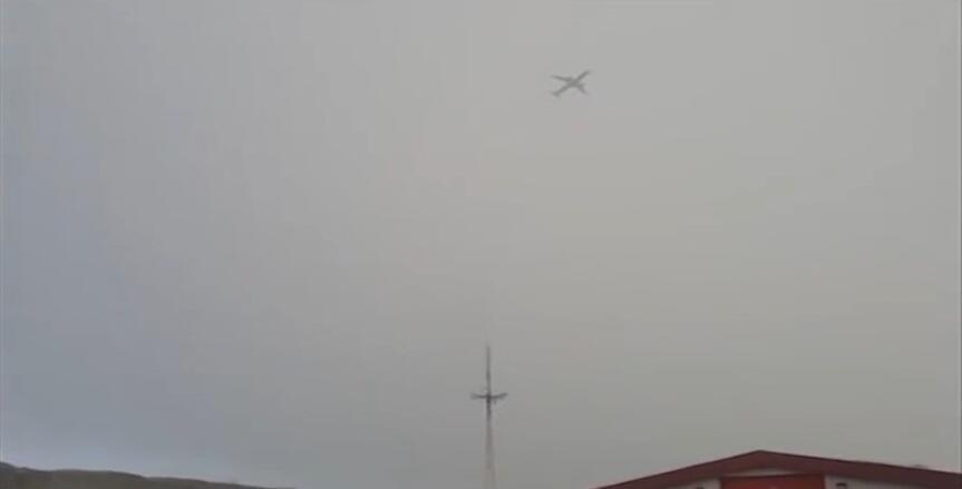 空中惊魂!冰岛一客机飞行途中遭雷电击中