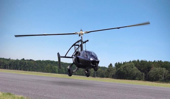 荷兰公司展示飞行汽车原型 空中地面来去自如