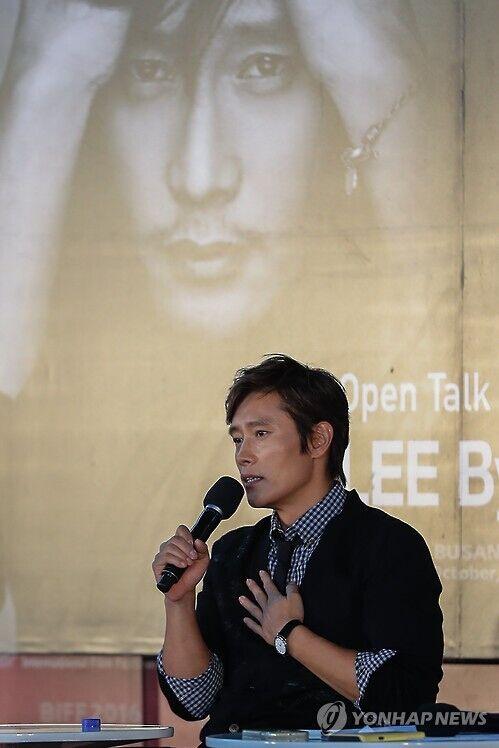 李炳宪谈人生与电影:以后想带着儿子看电影