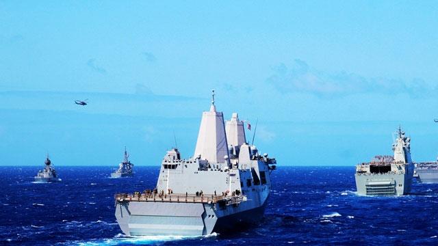 海军大校镜头里的环太军演
