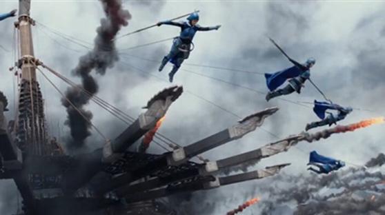 张艺谋《长城》新预告:人兽史诗大战堪比《魔戒》