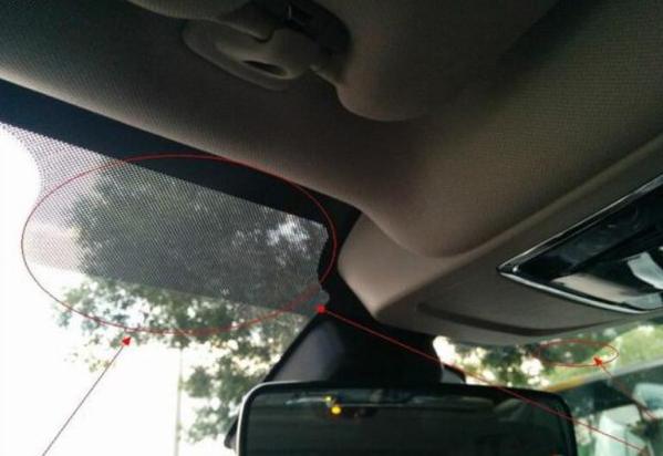 神奇!听说前挡风玻璃上黑点有特殊作用