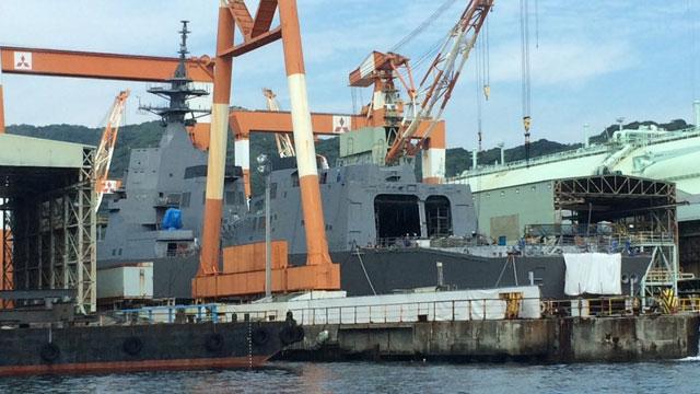 日本最新052D死敌即将下水?