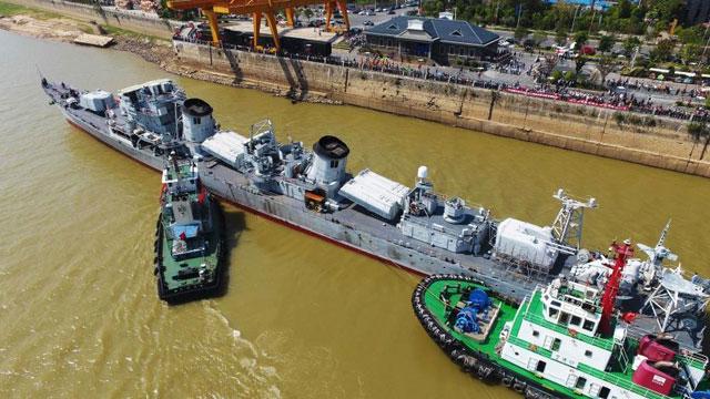 第一代导弹驱逐舰退役后命运