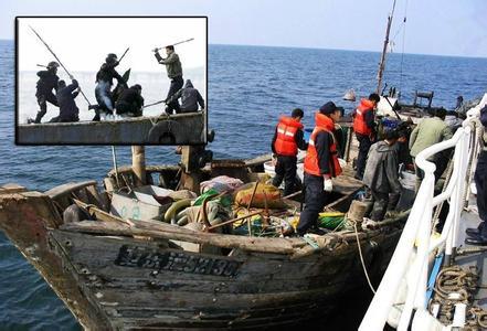 社评:准许炮击中国渔船,韩