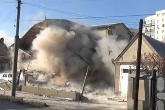 恐怖分子不出来俄警察直接炸楼
