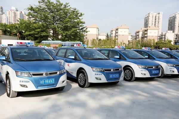 比亚迪将在深圳投放e6纯电动出租车