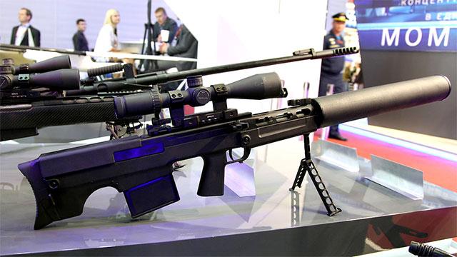 俄罗斯全新狙击枪枪管这么粗?