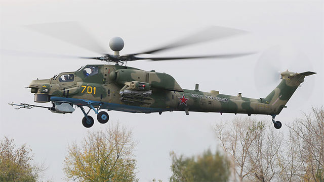 俄罗斯最新米28NM完成首飞