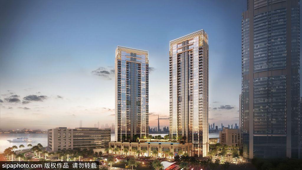 """高度超哈利法塔 迪拜""""世界第一高楼2.0""""动工"""