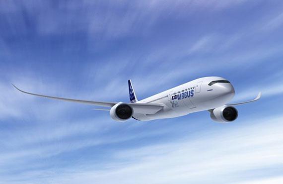 空客A350XWB测试机中国首秀:将参加珠海航展