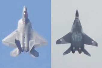 米格-29和F-22垂直爬升谁更猛