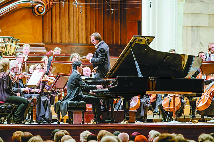 李云迪在华沙举行生日音乐会