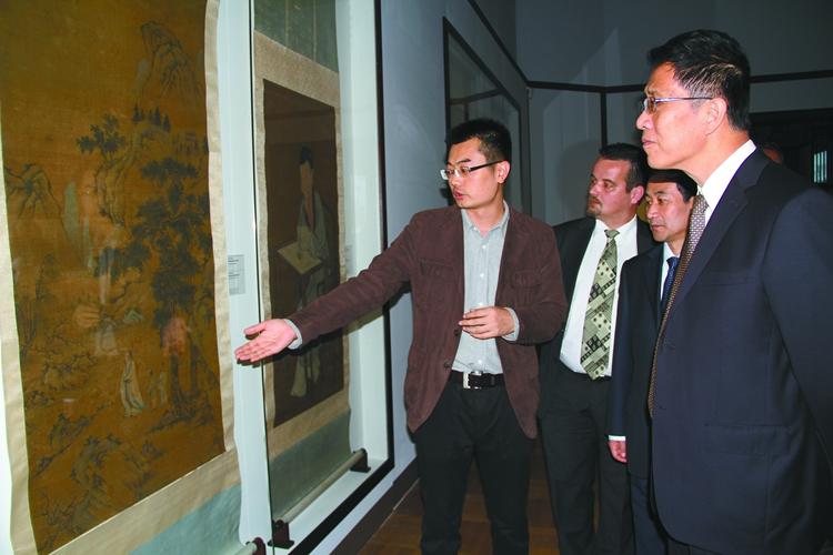 中国古代艺术展在华沙开幕
