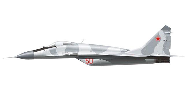 绘画达人一步步教你画出米格29