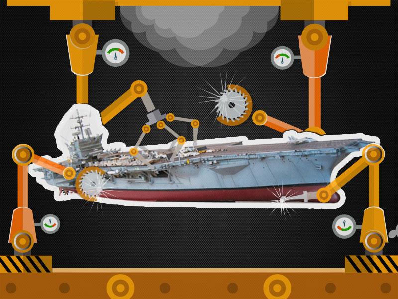 超级航母3 核动力加持下的狂飙