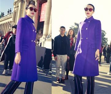 企业家也爱时装周?气场女王朱红兰亲赴巴黎示范气场管理