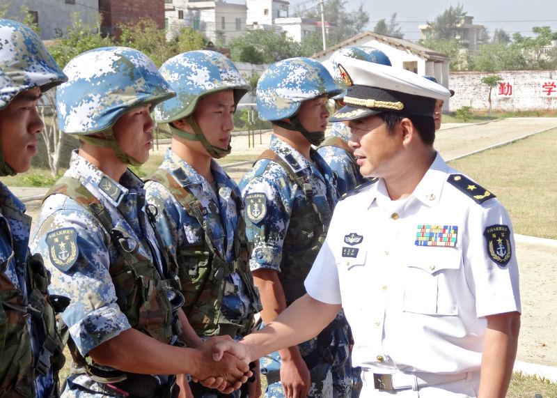 安卫平:我眼中的中国海军陆战队