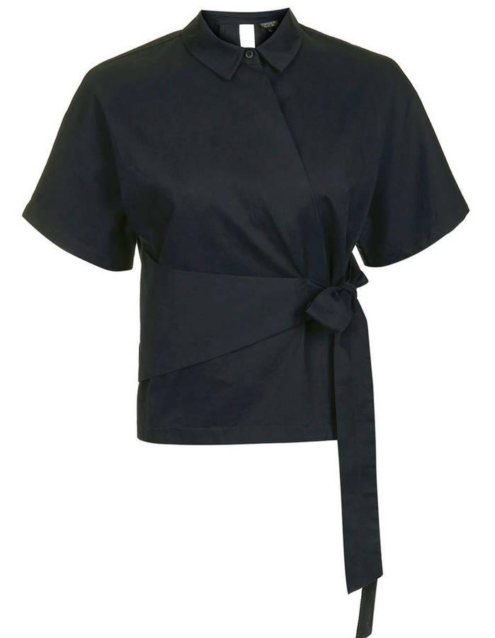 早秋衬衫时尚搭配 选对衬衣穿出优雅气质