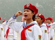 别羡慕了:中国也有少年军校