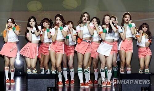 韩选秀女团I.O.I发散伙专辑感言:五年后再合体