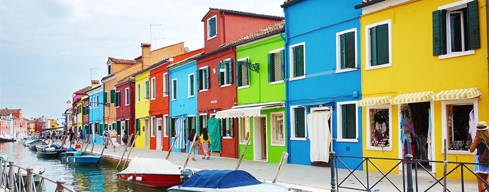 威尼斯上百小岛,风情万千