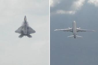 F-22和反潜机比爬升如同开挂