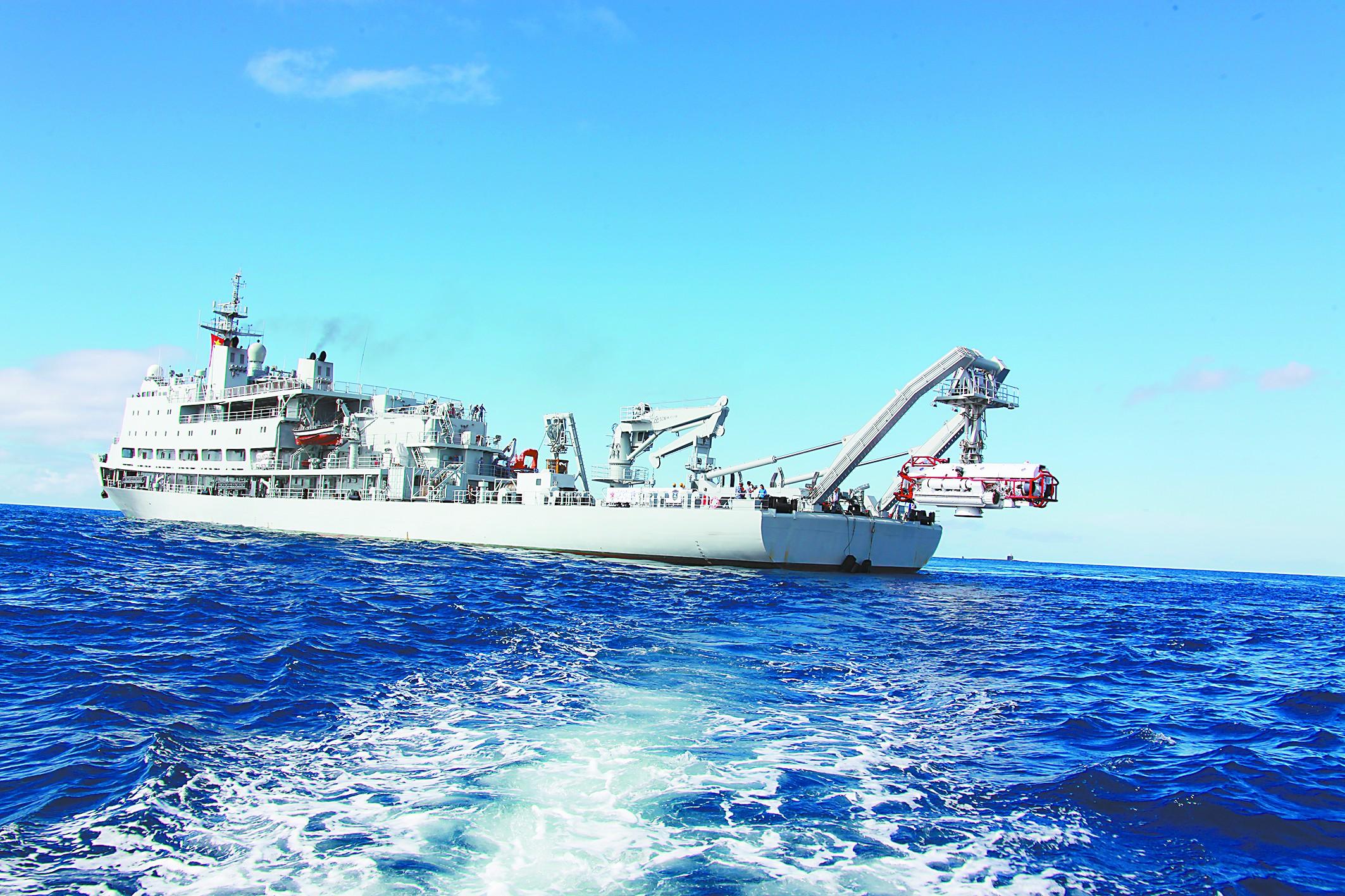 中国国产潜艇救援船实现全电推进 外方赞不绝口