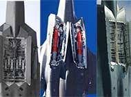 世界三款顶级五代机弹舱对比