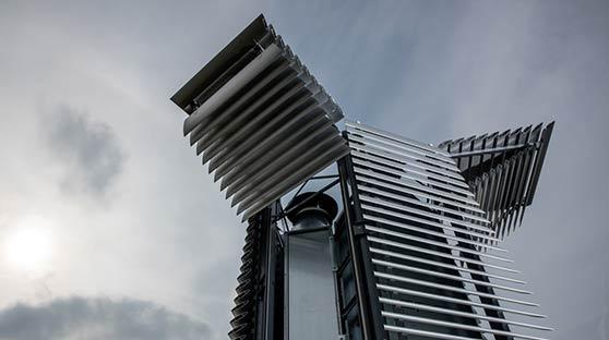 雾霾塔北京开始测试 全球最大空气净化器将亮相