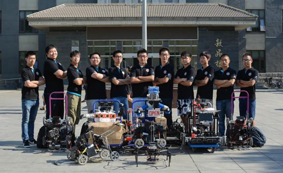 无人军团这样打造:访全国大学生机器人大赛NCUTDreamTeam队