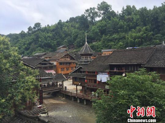中国传统村落-肇兴侗寨一隅。 刘鹏 摄
