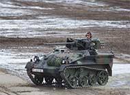 德陆军军演 袖珍战车很抢镜
