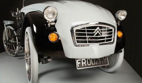 经典碰撞经典 设计师打造世界独一无二电动三轮车