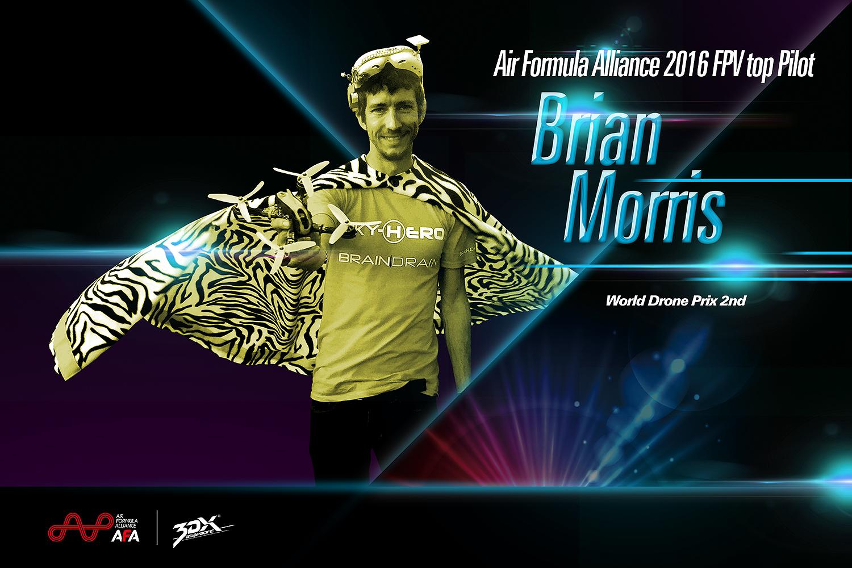 大神驾到!Brian Morris