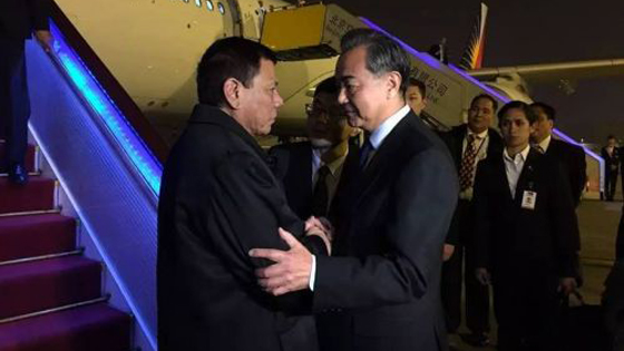 外媒:中方将助菲建高铁?菲总统访华引关注