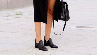 秋天不穿美靴不舒服斯基!