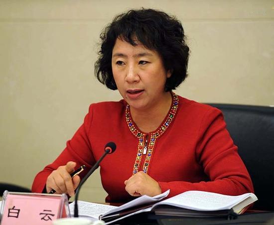 山西省委原常委白云受贿1781万 被判有期徒刑12年