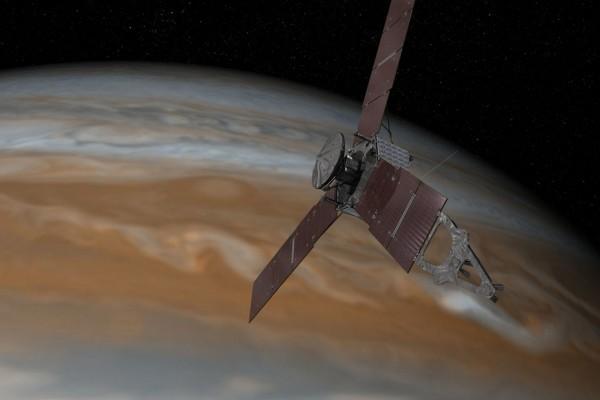 """""""朱诺""""绕木星飞行时发生故障 科考延期两个月"""