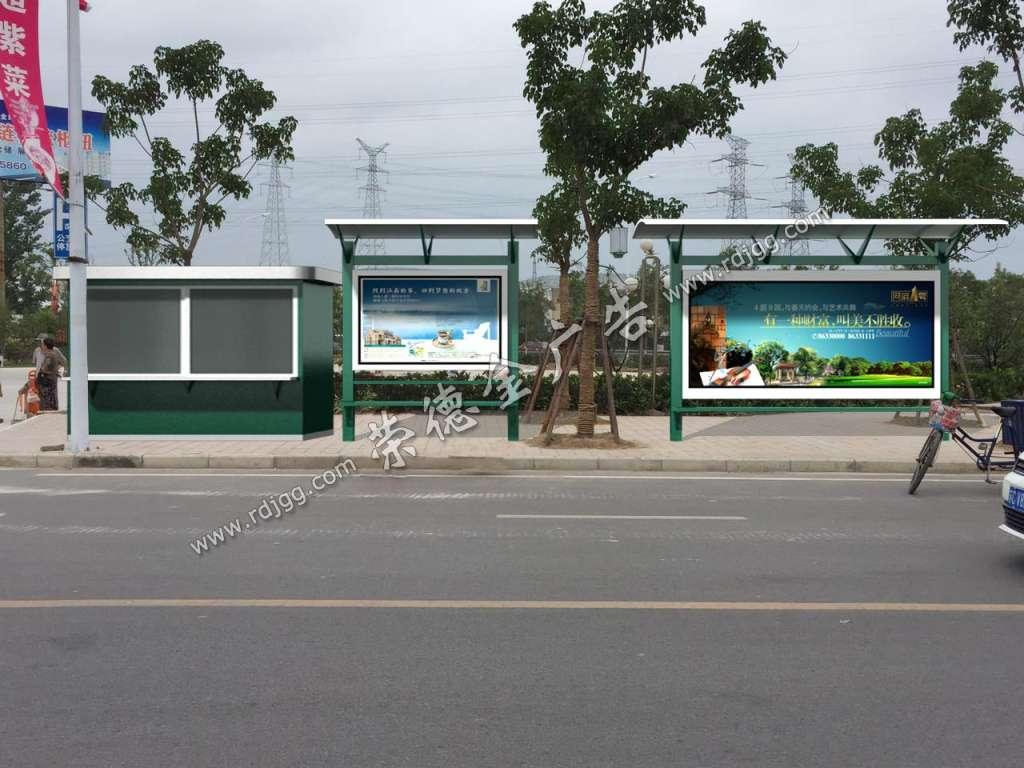 荣德金候车亭助力徐州创建江苏省公交优先示范城市