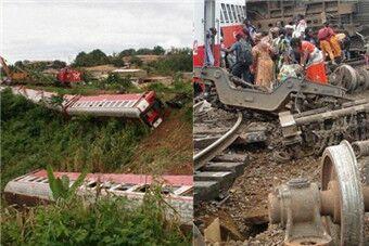 喀麦隆火车脱轨事故 至少55死300伤