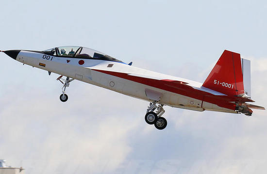 日本X2心神隐形机再次试飞