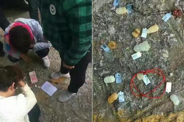 游客丽江逛店盗标价万元玉石 被抓后原价买走