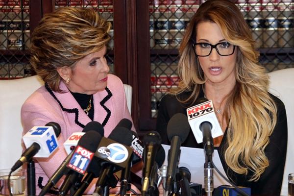 美国A片女星出席新闻发布会公开指控特朗普性骚扰