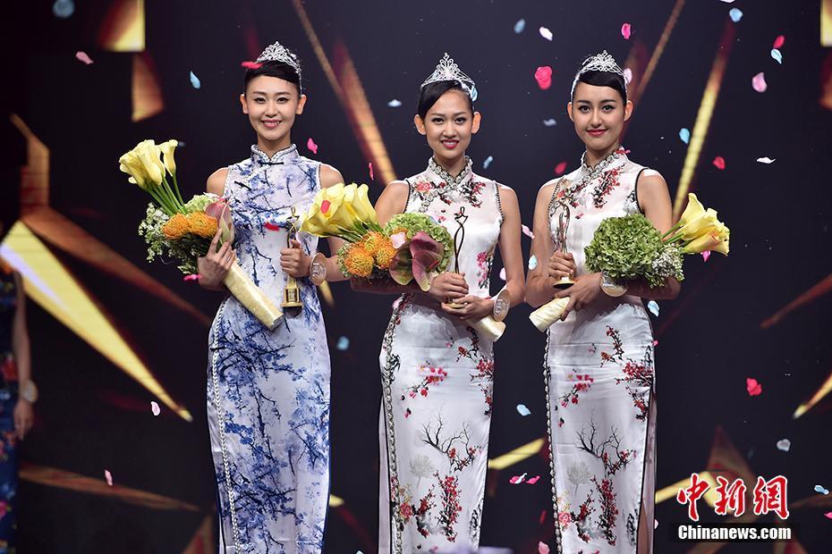 2016中华小姐环球大赛 加拿大女孩韩凝折桂