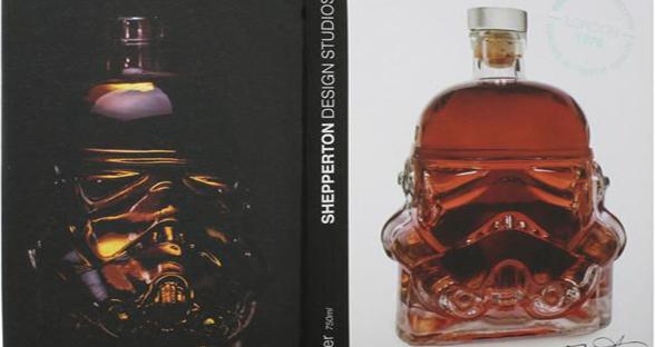 星战迷聚会利器:暴风突击兵造型酒瓶和一口杯