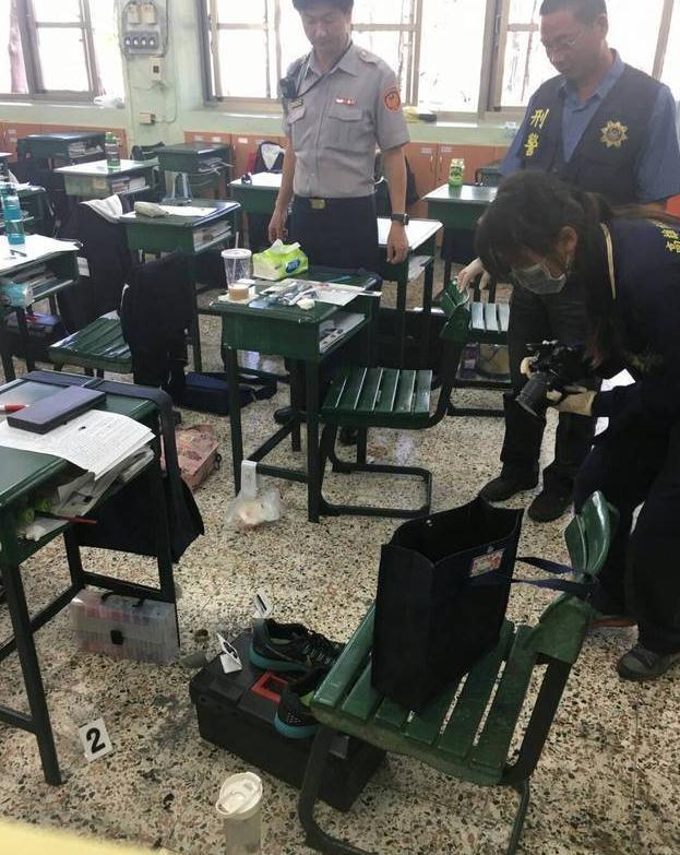 台高中生带土制手榴弹回校 把玩引爆炸烧伤手脚