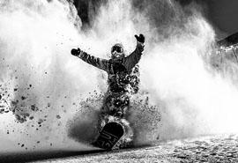 揭秘单板滑雪的肌肉运用